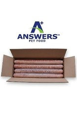 Answers ANSWERS Frozen Raw Canine Detailed Duck 20 lb Bulk