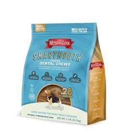 THE MISSING LINK THE MISSING LINK Smartmouth Dental Chews for Small/Medium  Dogs