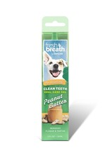 TROPICLEAN TROPICLEAN  Fresh Breath Peanut Butter Oral Gel for Dogs 4oz