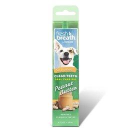 TROPICLEAN TROPICLEAN  Fresh Breath Peanut Butter Oral Gel for Dogs 4oz