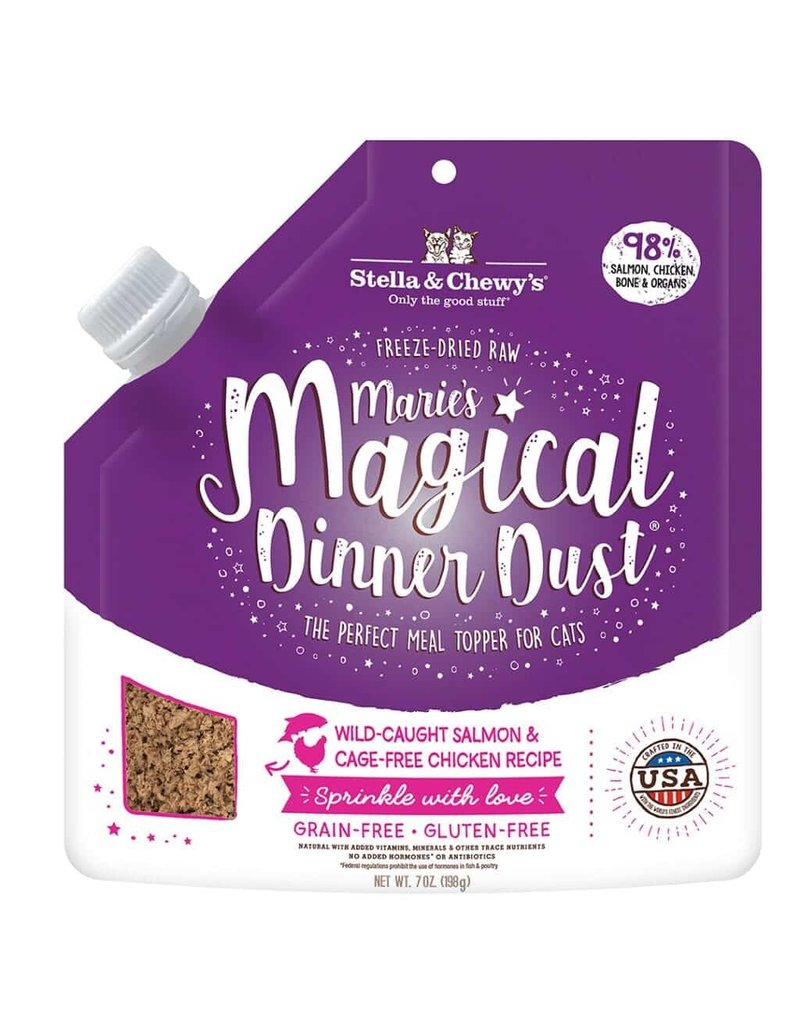 Stella & Chewys STELLA & CHEWY'S Magical Dinner Dust Salmon & Chicken for Cats 7oz