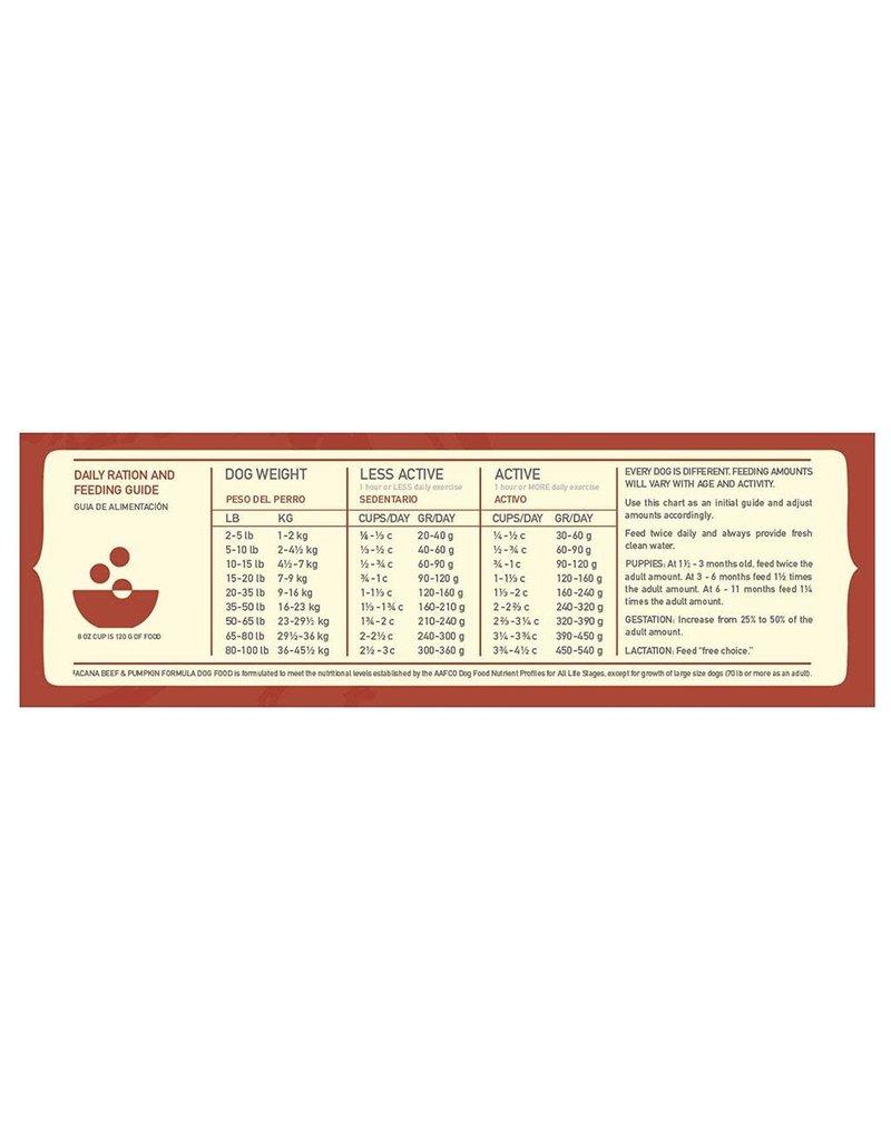 Acana ACANA Singles Beef & Pumpkin Grain-Free Dry Dog Food