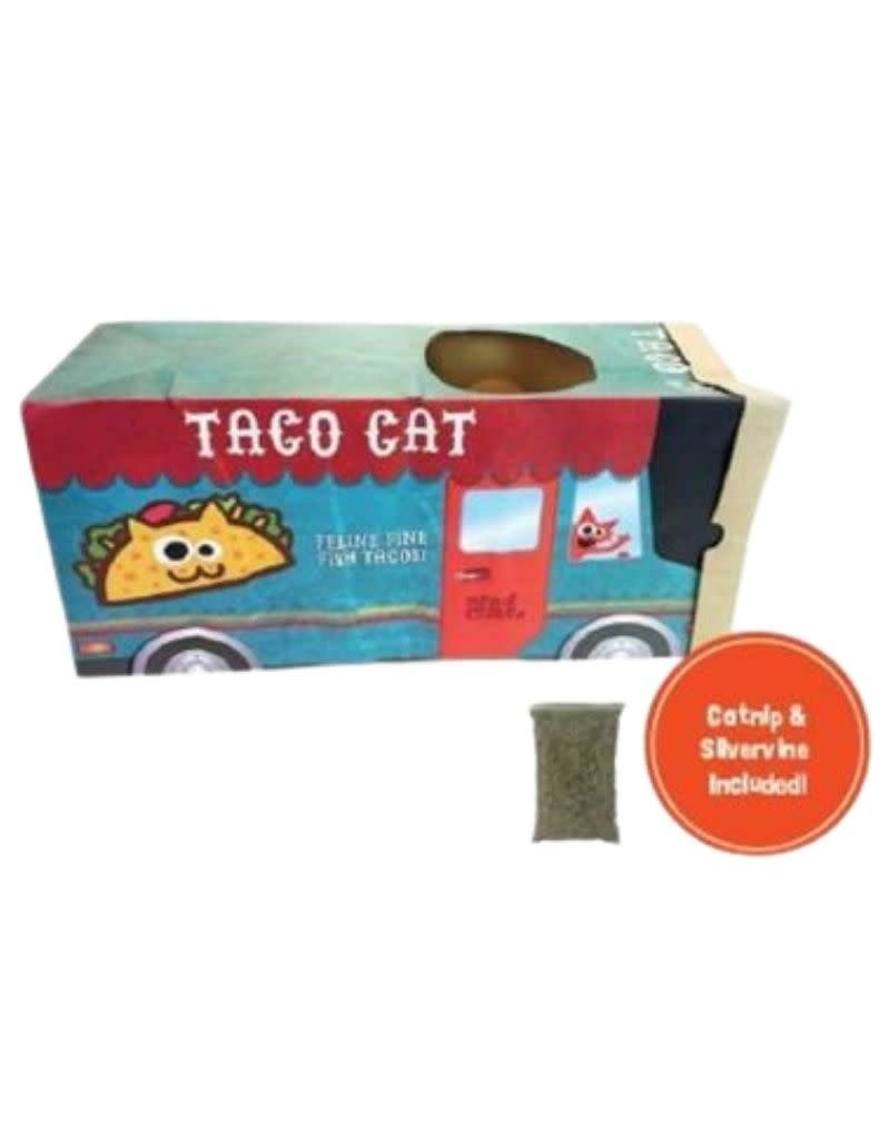 Mad Cat MAD CAT Taco Truck Crinkle Bag Cat  Toy