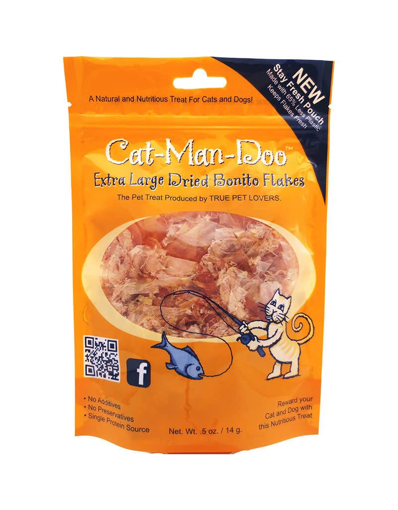 CAT MAN DOO CAT MAN DO Bonito Flakes Treats Cat Dog .5oz