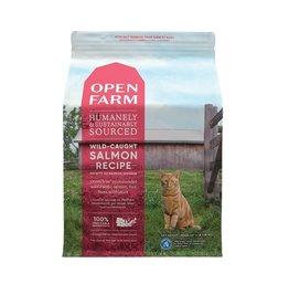 Open Farm OPEN FARM Wild Caught Salmon Dry Cat Food  8 lb.