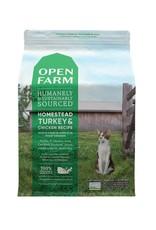 Open Farm OPEN FARM Homestead Turkey & Chicken Dry Cat Food  4 lb.