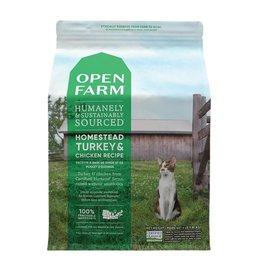 Open Farm OPEN FARM Homestead Turkey & Chicken Dry Cat Food  8 lb.