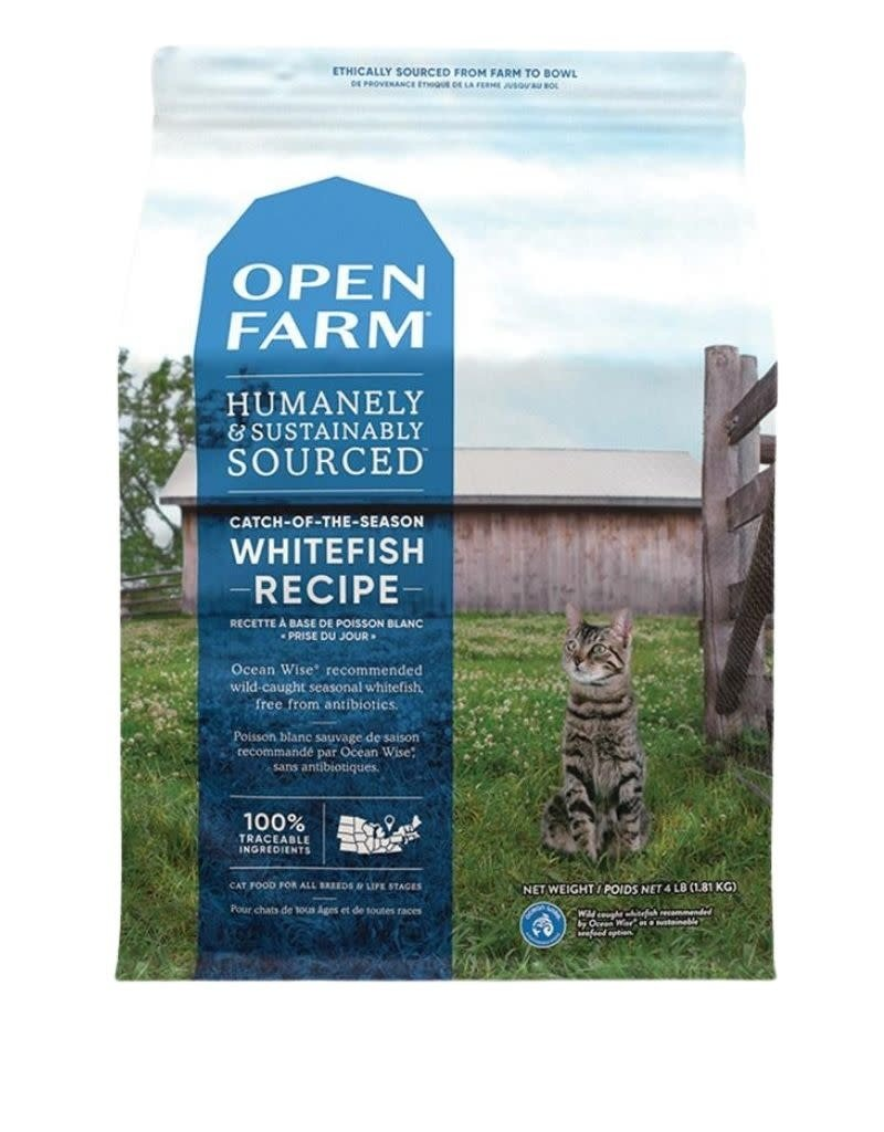 Open Farm OPEN FARM Catch of the Sea Whitefish Dry Cat Food  8 lb.