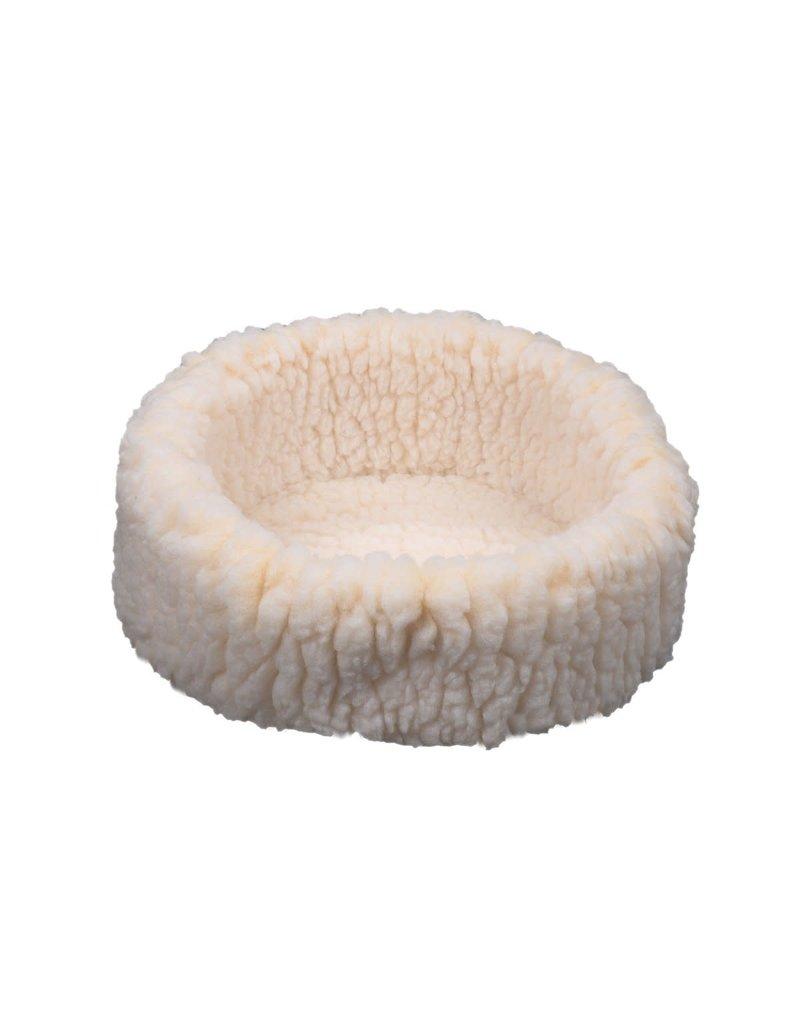 HUGGLEHOUNDS HUGGLE CATS Fleece Snuggler Bed