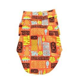 DOGGIE DESIGN Hawaiian Camp Shirt Tiki