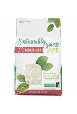 Sustainably Yours SUSTAINABLY YOURS Clumping Multi-Cat Natural Cat Litter
