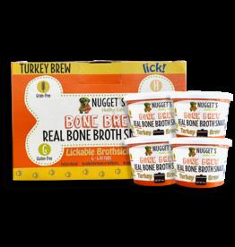 Nugget's NUGGET'S Frozen Turkey Bone Brothsicles 4 oz CASE/ 4