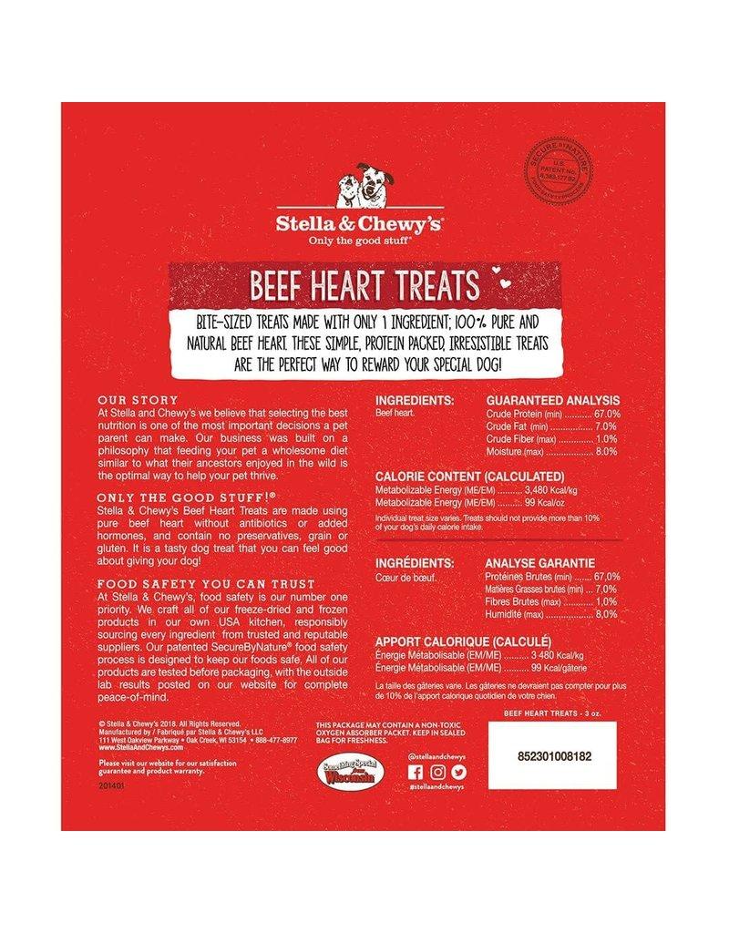Stella & Chewys STELLA & CHEWY'S Freezedried Beef Heart Dog Treat 3 oz.