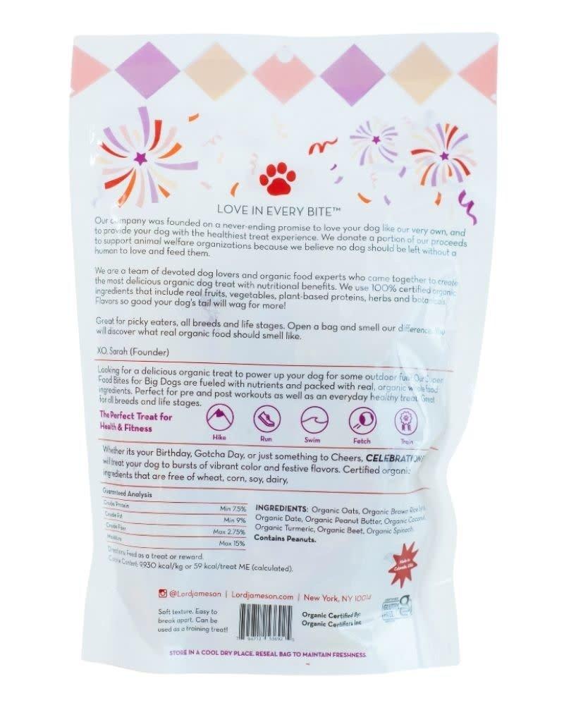 Lord Jameson LORD JAMESON Celebration Bash Organic Dog Treats Large Breed  10oz