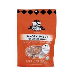 Lord Jameson LORD JAMESON Savory Sweet Organic Dog Treats Large Breed 10oz