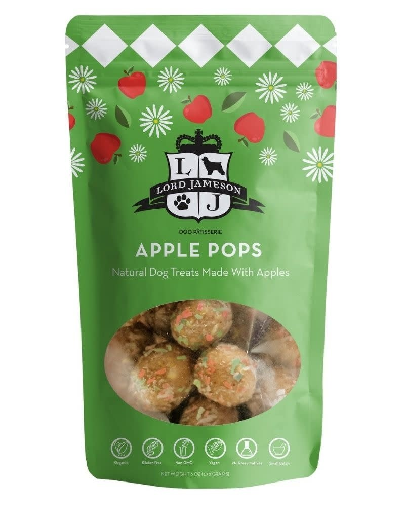 Lord Jameson LORD JAMESON Apple Pops Organic Dog Treats 6oz