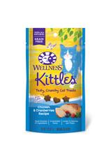 WELLNESS WELLNESS Kittles Crunchy Cat Treats Chicken Cranberry 2oz