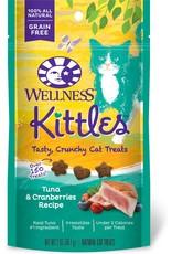 WELLNESS WELLNESS Kittles Crunchy Cat Treats 2oz Tuna Cranberry