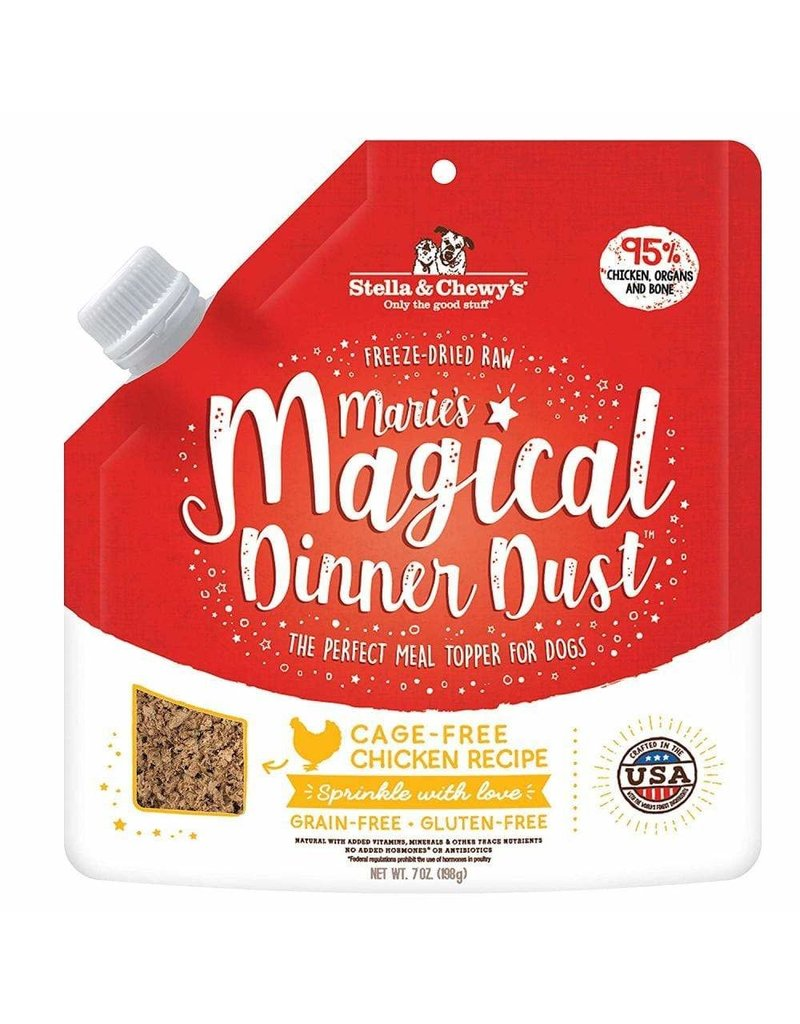 Stella & Chewys STELLA & CHEWY'S Magical Dinner Dust Cage-Free Chicken for Dogs 7oz