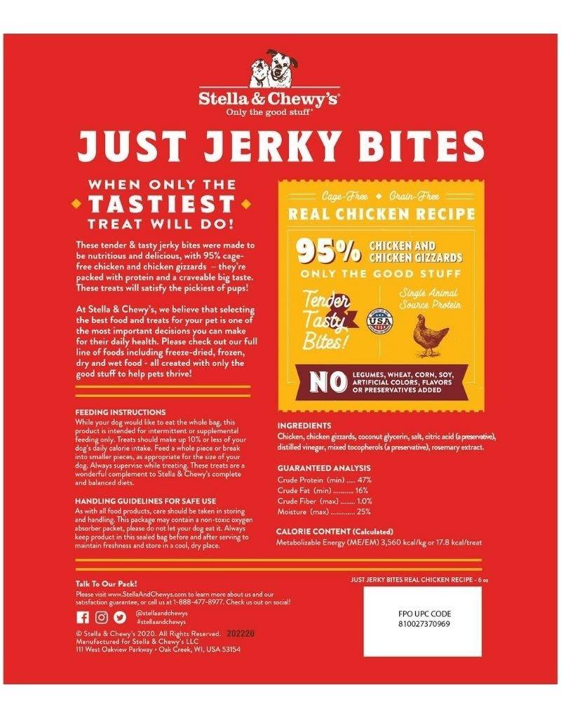Stella & Chewys STELLA & CHEWY'S Just Jerky Bites 6 oz Chicken