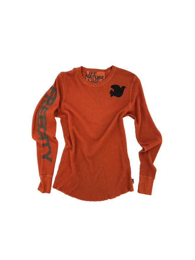 FREECITY Womens Long Sleeve Thermal Shirt