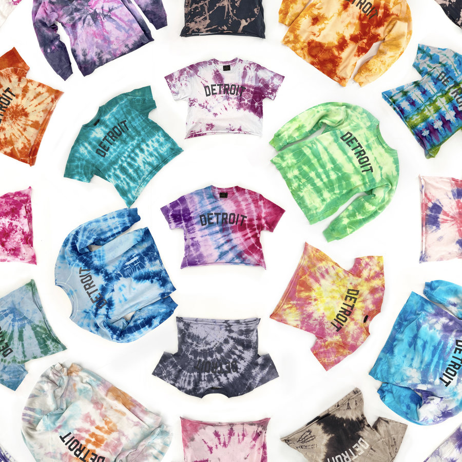 Hand-Dyed Tie Dyes