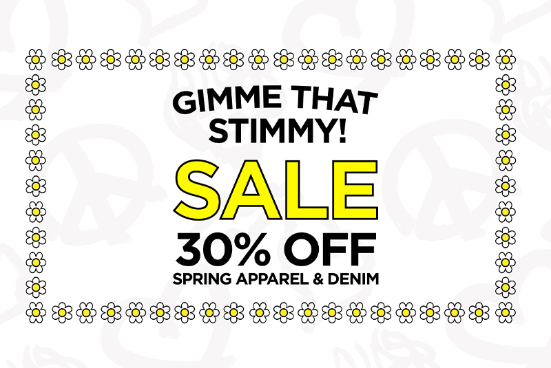 30% OFF Spring Apparel & Denim ✌