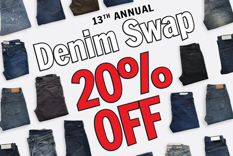 20% OFF DENIM - In-store Promo