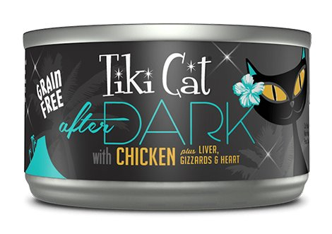 Tiki Cat Tiki Cat After Dark Chicken 2.8oz
