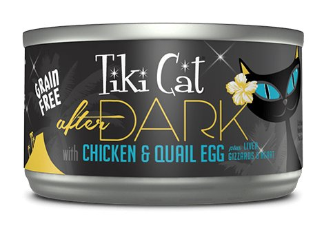 Tiki Cat Tiki Cat After Dark Chicken & Quail Egg 2.8oz