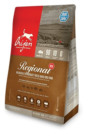 Champion Orijen Freeze Dried Regional Red