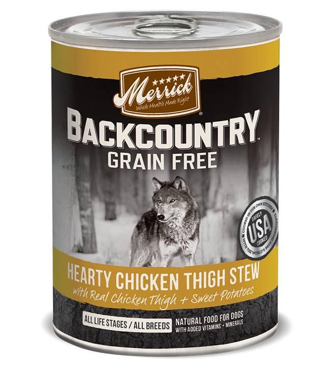 Merrick Merrick Back Country Chicken Thigh Stew 12oz
