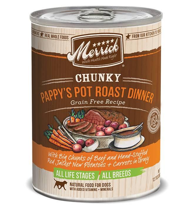 Merrick Merrick Dog Pappy's Pot Roast 12oz