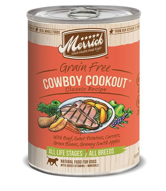Merrick Merrick Dog Cowboy Cookout 13oz