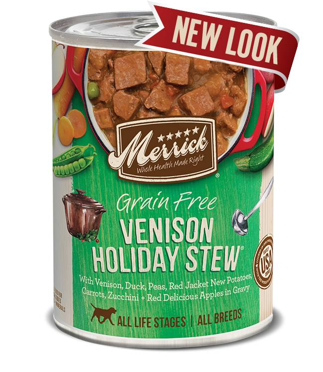 Merrick Merrick Dog Venison Stew 13oz