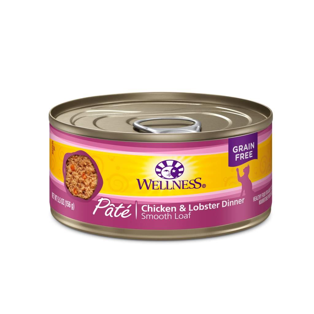 Wellness Wellness Cat Can Chicken & Lobster 5.5oz