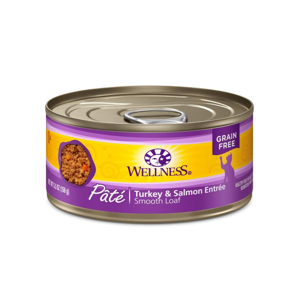 Wellness Wellness Cat Can Turkey & Salmon