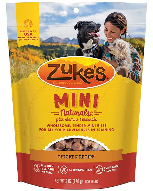 Zukes Zukes Mini Naturals Chicken