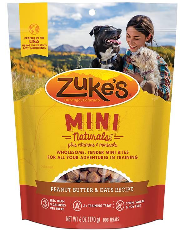 Zukes Zukes Mini Naturals Peanut Butter