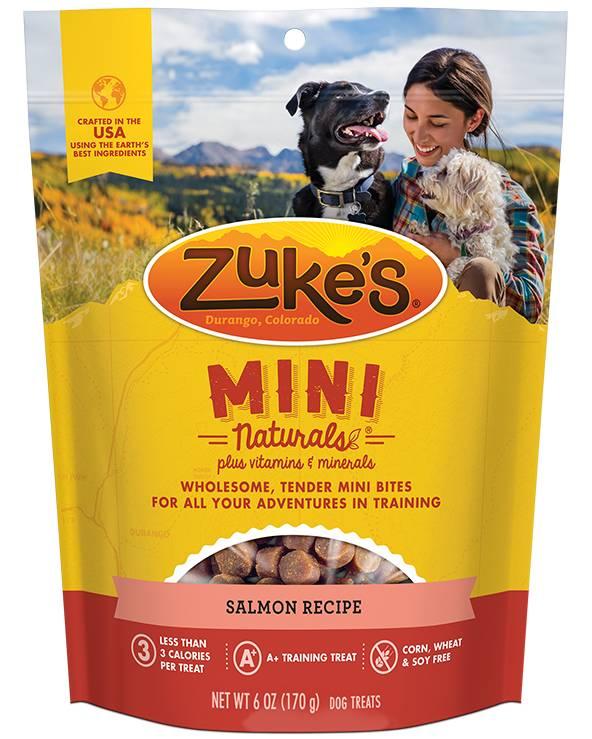 Zukes Zukes Mini Naturals Salmon