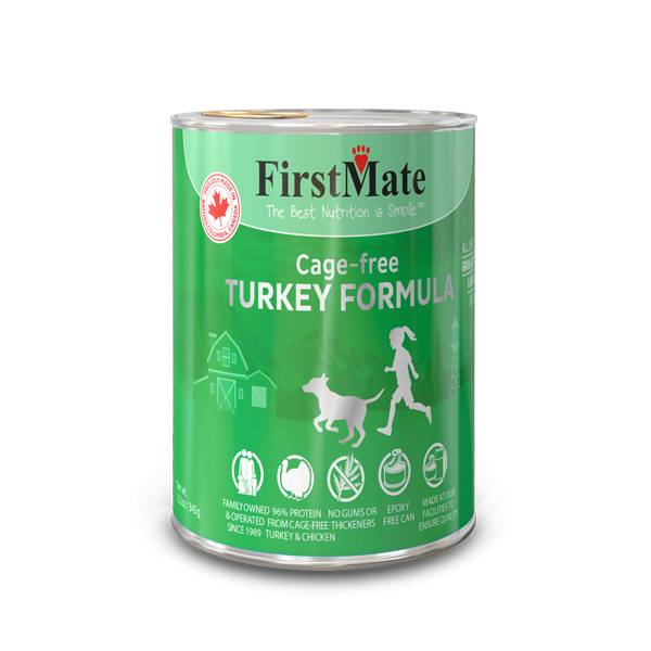 First Mate First Mate Can Dog Turkey 12.2oz