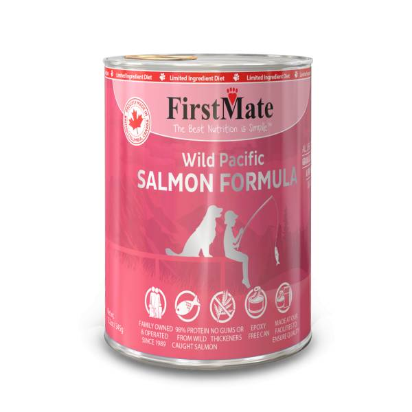 First Mate First Mate Can Dog Salmon 12.2oz