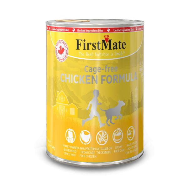 First Mate First Mate Can Dog Chicken 12.2oz