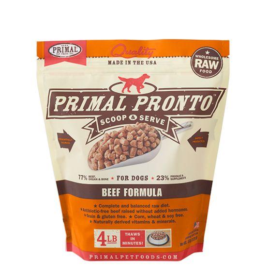 Primal Primal Dog Raw Beef