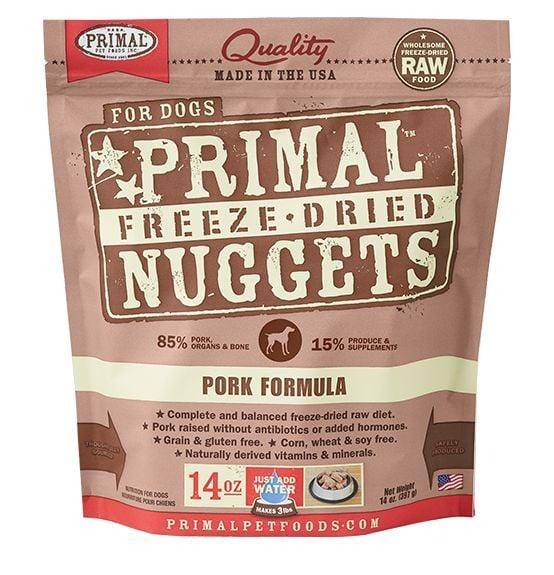 Primal Primal Dog Freeze Dried Pork Nuggets