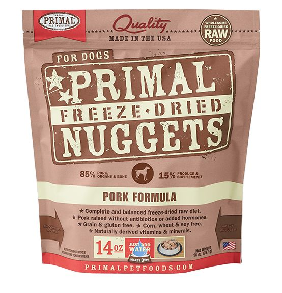 Primal Primal Dog Freeze Dried Pork Nuggets
