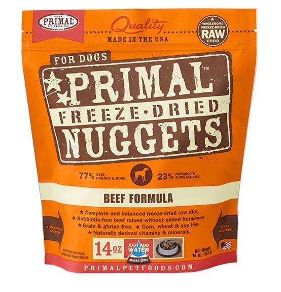 Primal Primal Dog Freeze Dried Beef Nuggets