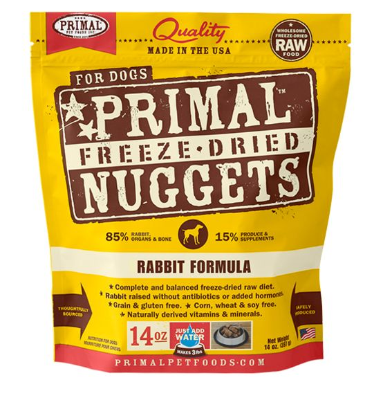 Primal Primal Dog Freeze Dried Rabbit Nuggets