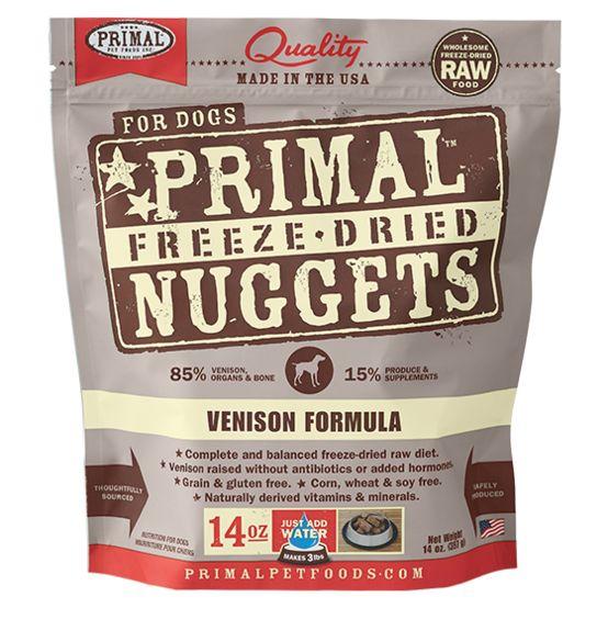 Primal Primal Dog Freeze Dried Venison Nuggets