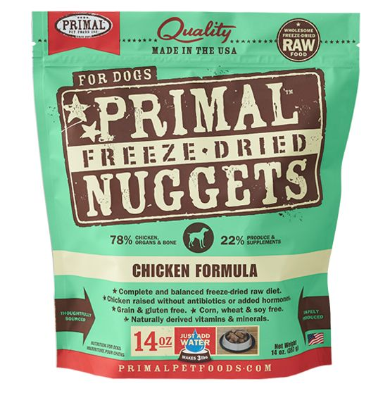 Primal Primal Dog Freeze Dried Chicken Nuggets